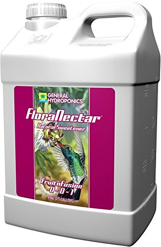 General Hydroponics Flora Nectar Fruit and Fusion for Gardening, 2.5-Gallon by General Hydroponics