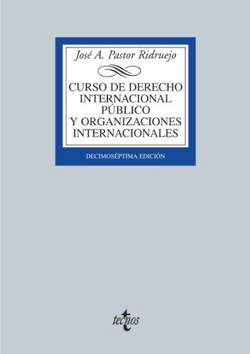 Descargar Libro Curso De Derecho Internacional Público Y De Organizaciones Internacionales: Decimoséptima Edición Editorial Tecnos S.a.