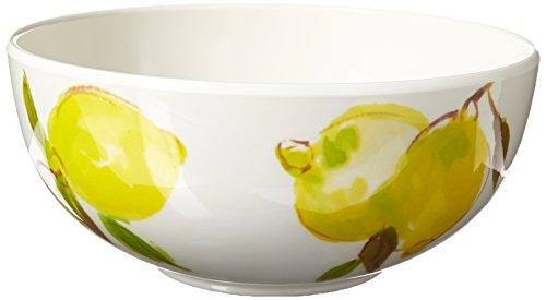Kate Spade New York 176630 Lemon Melamine Individual Bowl, Bright Yellow by Kate Spade New York