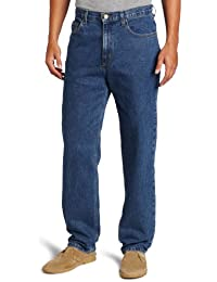 Men's Relaxed Straight-Leg Five-Pocket Jean