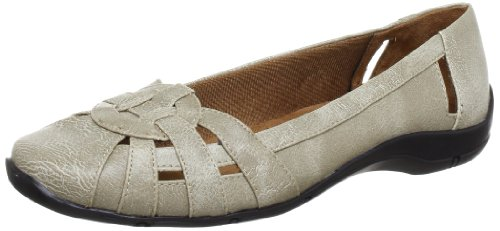 DISTRICT Beige B5535S2251 Slipper 2 Life Taupe Damen Stride CxvR5