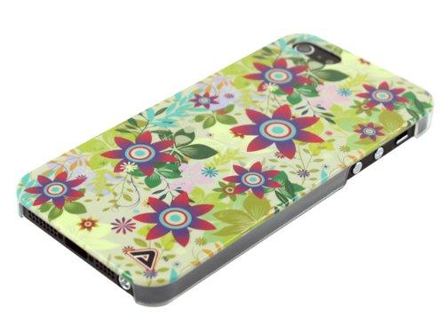 Advanced Accessories Floral 1 Swanky Hartschale für Apple iPhone 5/5S