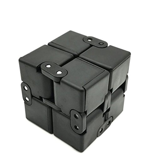 Price comparison product image Fidget Cube in Style With Infinity Cube Pressure Reduction Toy - Luxury Infinity Turn Spin Cube Edc Fidgeting - Killing Time Toys Infinite Cube For ADD, ADHD, Anxiety Stress Funny (A)