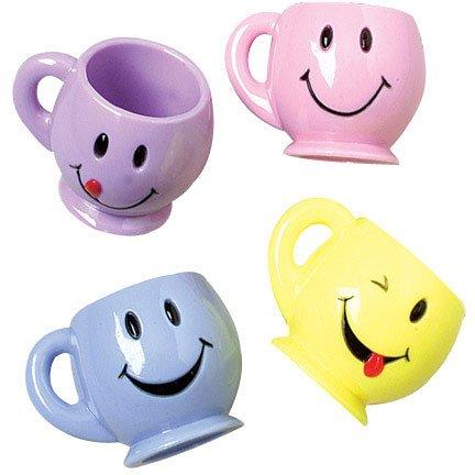 Smile Face Mini Mugs (1 Dozen) - Bulk