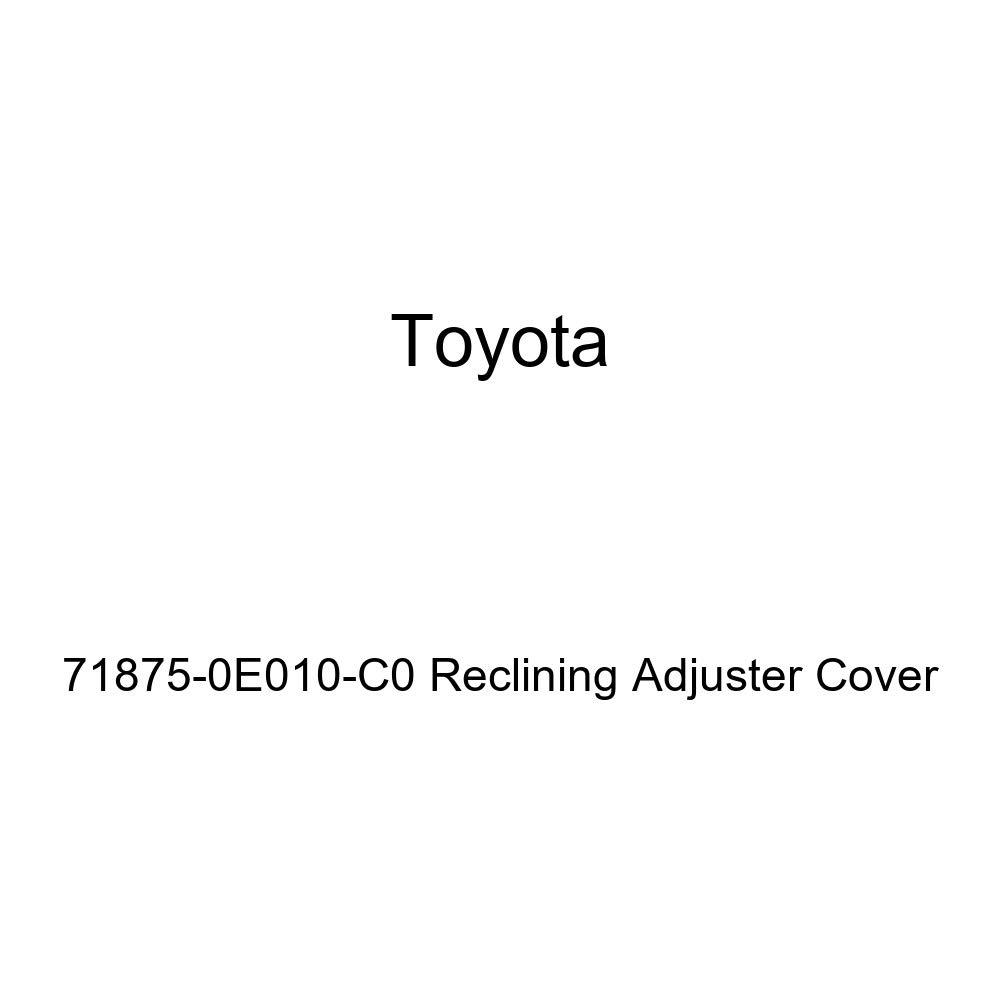 TOYOTA Genuine 71875-0E010-C0 Reclining Adjuster Cover
