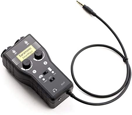 Saramonic 2 Channel Microphone Camcorders Smartphones product image