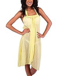 Ingear Short Tent Dress (Large/XLarge, Yellow)
