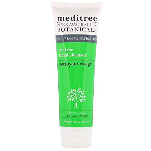 Cleanser Calming Aloe Facial - Natures Plus Meditree Pure Australian Botanicals Tea Tree Facial Cleanser - For Oily Combination Skin - 3.5 oz - Calming & Antibacterial, With Aloe Vera & Chamomile - Natural, Vegan