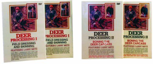 LEM Products Deer Processing I & II, DVD Set by LEM