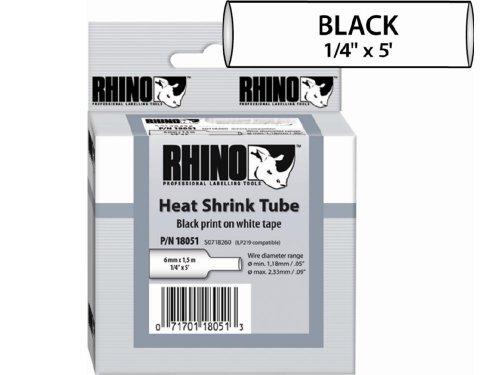 Sanford LP : RHINO 1/4 WHITE HEAT SHRINK ()