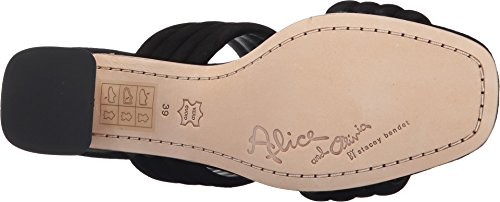 Alice + Olivia Womens Colby Mules Black