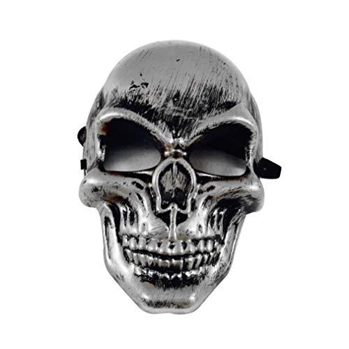 Loneflash Halloween Horror Mask, Grimace Night Terror Mask
