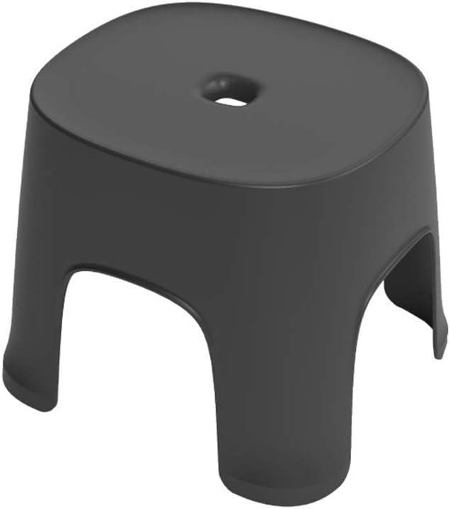 Color : Green 260 * 230 * 240 FJGLHEJG Footstool Modern Minimalist Stool Plastic Short Stool Row Stool Home Non-slip Pedal Rubber Stool Indoor Bathroom Footstool