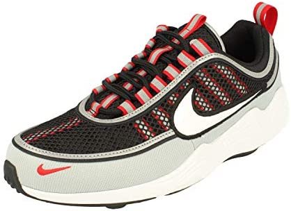 Nike Air Zoom Spiridon 16 Mens Running Trainers 926955 Sneakers Shoes UK 9 US 10 EU 44, Black White Wolf Grey 010