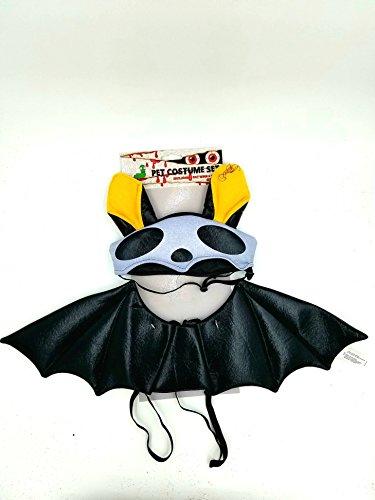 [Bat Halloween Pet Costume L/XL] (Bat Wings Dog Costume)