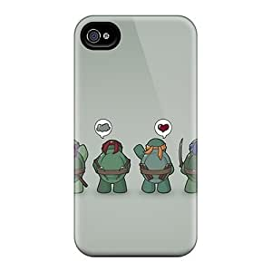 Hot Fashion Nnj1874PcsL Design Case Cover For iphone 6 Protective Case (funny Tmnt Teenage Mutant Ninja Turtles)