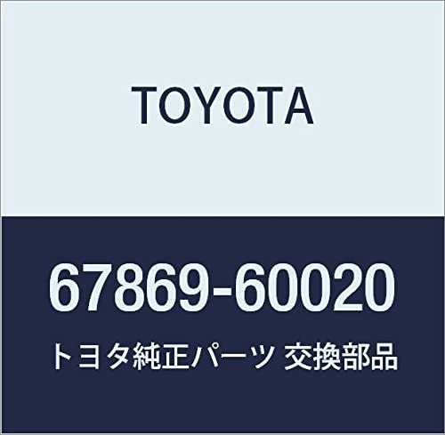 TOYOTA Genuine 67869-60020 Door Weatherstrip