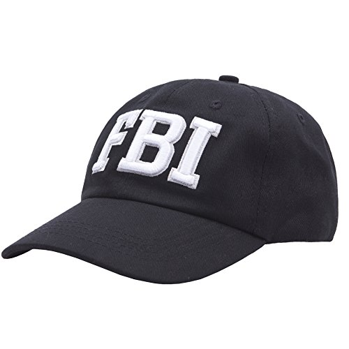Sports Baseball Cap Woman Outdoor Embroidered FBI letters-Hip Hop Style, Swag Trendy Baseball Caps Christmas Gifts