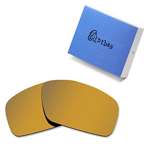 Glintbay 100% Precise-Fit Replacement Sunglass Lenses for Costa Del Mar Fantail - Polarized Bronze Gold Mirror ()