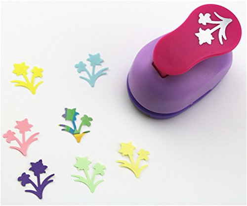 CADY Crafts Punch 2.5 cm paper punches paper punch flower (Bonsai)