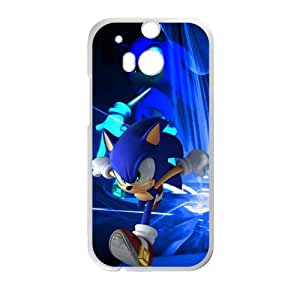 Premium Durable Sonic The Hedgehog Fashion Htc One M8 Case Shell Cover (Laser Technology)