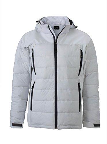 Jacket Tecnico Termica Outdoor Uomo Men's White Hybrid Materiale Giacca Misto In PUqAxwzRz