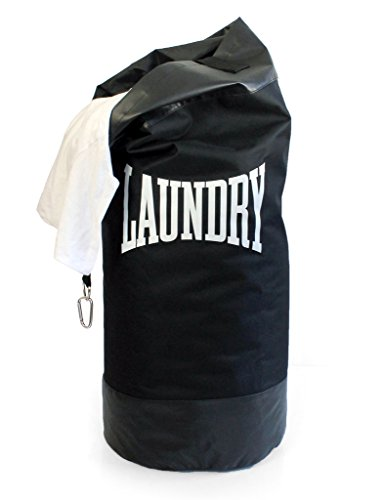 (Suck UK Laundry Basket | Punching Bag & Hamper | Washing BIN | Novelty Gifts |, Black)