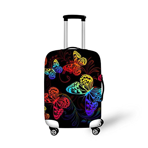 CHAQLIN Carry On Luggage Suitcase Cover Apply to 18″-21″ Case