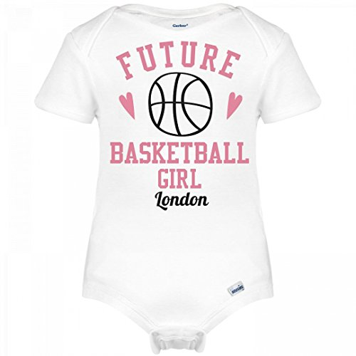 fan products of Future Basketball Girl London: Infant Gerber Onesies