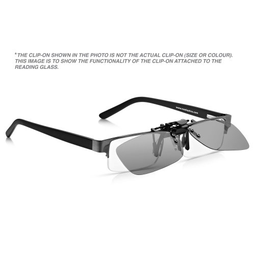 Read Optics Clip-On Sunglasses: Gafas de Sol con Clip Flip-Up para Gafas Graduadas de Hombre y Mujer. Lentes Polarizadas UV400 Protección 100% UV - en ...