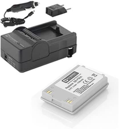 - Replacement for Samsung SB-P90A Samsung SC-M105 Camcorder Battery Lithium-Ion SB-90 Batteries 1100 mAh