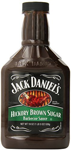 Jack Daniel's Barbecue Sauce, Hickory Brown Sugar, 19 Ounce (Pack of 6) by Jack Daniel's ()