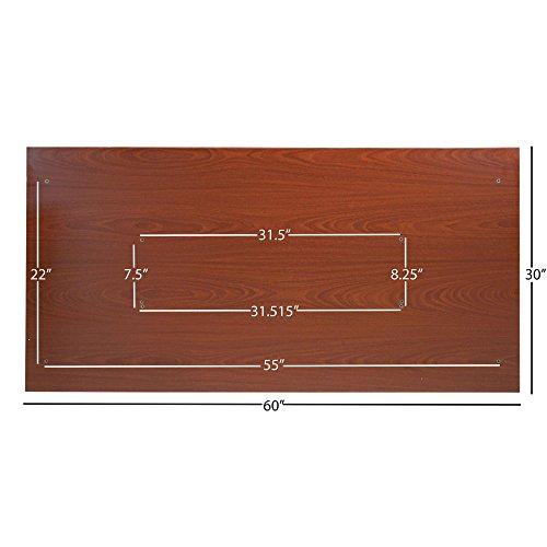 Titan Universal Desk Top – 30 x 60 Wood