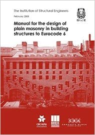 Manual for the design of plain masonry in building structures to