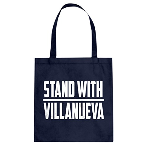 Tote Stand with Villanueva Large Navy Blue Canvas Bag ()
