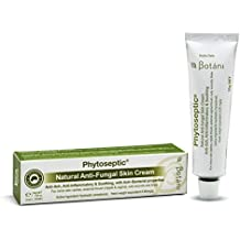 Botani Australia PHYTOSEPTIC® 100% Natural Anti-fungal, Antiseptic & Anti-inflammatory Cream Treatment for Tinea (Athelete's Foot), Minor Skin Rashes, Itches, Irritations, Jock Itch, Thrush, Cuts, Wounds, Skin Irritations. All-natural First Aid for Whole Family. Safe for Kids. Proprietary formula with Goldenseal actives