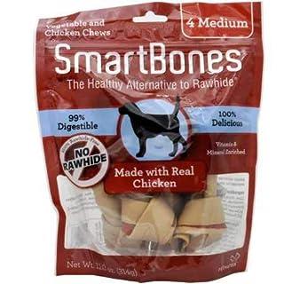 SmartBones Medium Chicken Chews (4 Pack)