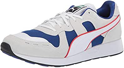 PUMA Mens Rs-100 White Size: 4