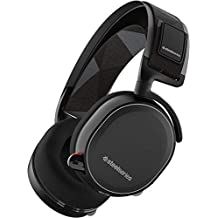 SteelSeries Arctis 7 Lag-Free Wireless Gaming Headset with DTS Headphone:X 7.1 Surround for PC, Playstation 4, VR, Mac and Wired for Nintendo Switch, Android and iOS - Black