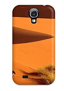 Fashion RnypmbQ5044BIMQj Case Cover For Galaxy S4(crossing The Dunes Leopard Sand Sossusvlei Park Namibia N Nature Other)