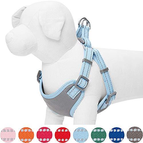🥇 Umi. by Amazon – Pastel – Arnés tipo chaleco para perros reflectante S