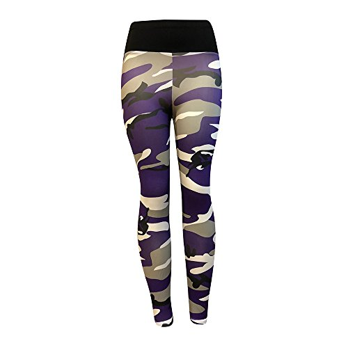 Price comparison product image Stretchy Skinny Workout Leggings Yoga Tights, Serzul Women Fashion Striped Trouser Sports Gym Running Pants