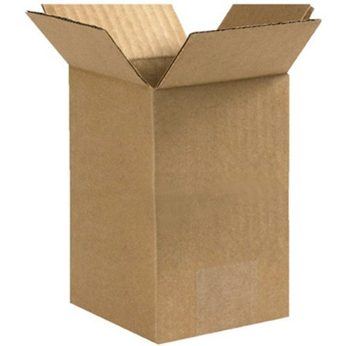 RetailSource BX060614CB750 Tall Corrugated Boxes, 6'' x 6'' x 14'', Brown (Pack of 750) by RetailSource