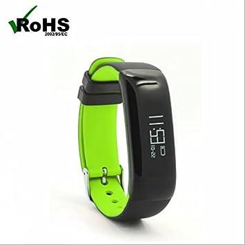Bluetooth Deporte Reloj Inteligente Reloj Reloj de pulsera teléfono Smart Watch, dormir supervisión, podómetro