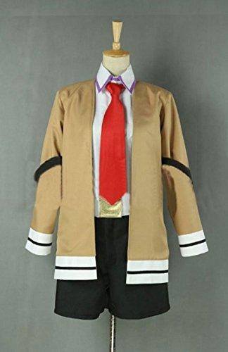 [FOCUS-COSTUME Steins gate Makise Kurisu Suit Cosplay Costume] (Kurisu Makise Cosplay Costume)