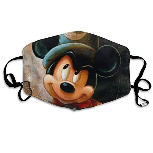 Dust Mask- Paint Mickey Mouse Reusable Face Mask Flu Mask For Men Women -