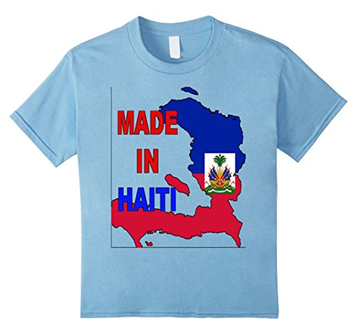 Kids Made In Hait 8 Baby Blue (Blue Hait)