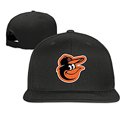 QIDAMIAO Unisex Adult Veteran Baltimore Bird Baseball Team Club Snapback Hats
