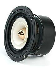 Wnuanjun 2 STKS Sounderlink 3 ''Full Range Frequentie Speaker 3 Inch 90 MM Unit met Aluminium Bullet Hoofd Kapton Cone (Kleur: Ronde 8Ohm)