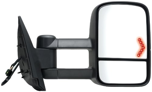 Fit System 62093G Chevrolet/GMC/Cadillac Passenger Side Replacement Towing Mirror with Dual Glass and Turn - Trend 2014 Glasses